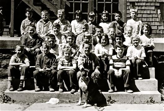 2nd grade at Orchard School, Indianapolis, Indiana, 1956-1957